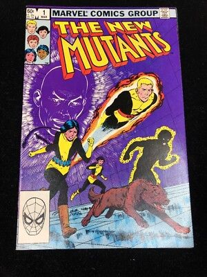 The New Mutants #1 (Mar 1983, Marvel) HIGH GRADE AND UNEAD | NM