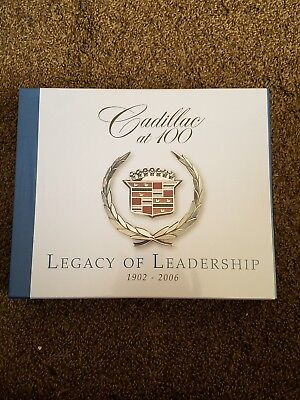 Cadillac New collector 2  book set 1902-2006 pictorial history