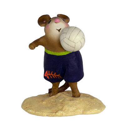 LITTLE BOPPER by Wee Forest Folk, WFF# MS-32, Volleyball Mouse