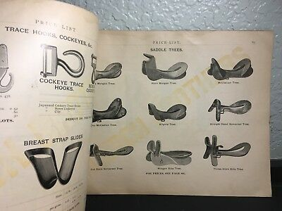 Antique  Lerch Bros. Saddlery Hardware & Harness Makers Catalog, Baltimore Md