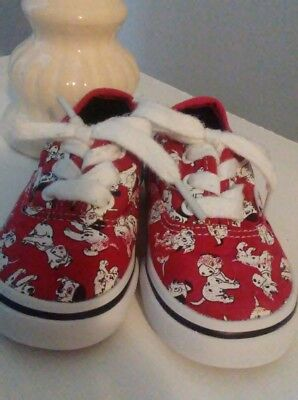 Infant vans shoes size 5 Disney 101 Dalmations