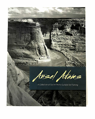 Ansel Adams Collection of Six Art Prints Suitable for Framing 11x14 inches