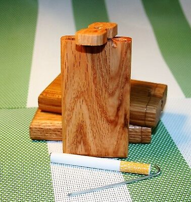 oak one hitter dugout with 78mm bat and poker