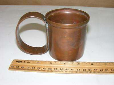 1981 Vtg General Electric Copper Current Limit Fuse Gift Decorative Cup