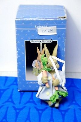 Schmid Beatrix Potter ORNAMENT Peter Rabbit with carrots  w/ Box