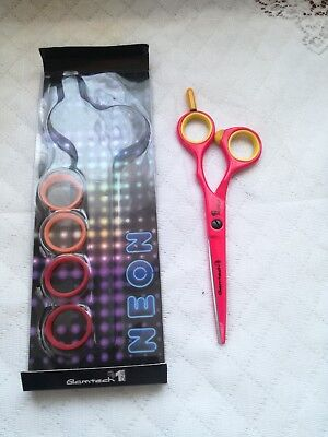 Hair Dressing Scissors Glamtech Neon Pink  5.5""