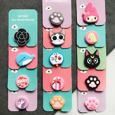 Cartoon Universal Phone Holder Expanding Stand Grip PopUp Mount For Phone Tablet