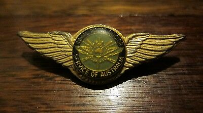 Royal Flying Doctor Service Of Australia Wings Badge VGC