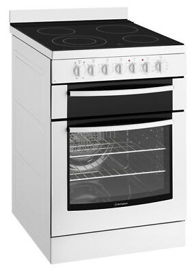 Westinghouse 60cm Freestanding Electric Cooker - WFE647WA