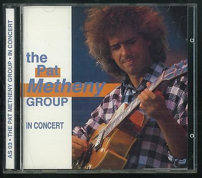 The Pat Metheny Group In Concert As 03 1992 Cd Ottimo Usato