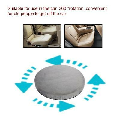 360 Degree Swivel Car Seat Cushion For Elderly Easy Travel And Office Comfy