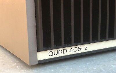 QUAD 405-2  Amp.  Lovely condition.  Serviced July 2018.