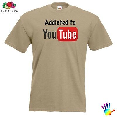 Gents YouTube t shirt FOTL mens/ladies clothing gift Many Colours