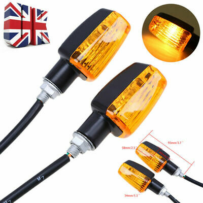 2Pcs Motorcycle Sequential Flowing Turn Signal Indicator light Motorbike Lamp