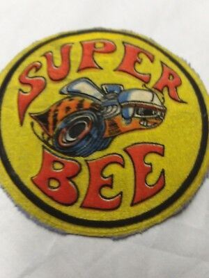Vintage early 1970s dodge super bee Patch