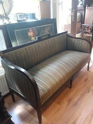 Biedermeier Antik Salon Sofa Original Zustand