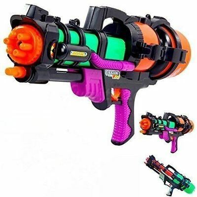 Water Gun Pump Action Pistol Outdoor Shoot Blaster Squirter Super Soaker Kid Toy
