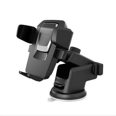 360° Mount Holder Car Windshield Stand For Cell Phone GPS iPhone Samsung Black