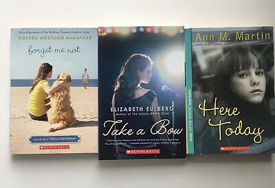 Young Adult YA Paperback Books Lot of 3 Scholastic NEW Fiction