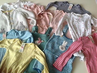 Baby girls mini boden clothes bundle 6-12 months great condition 13 items