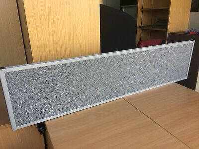 Grey Partition Desk Screens Dividers Office Furniture