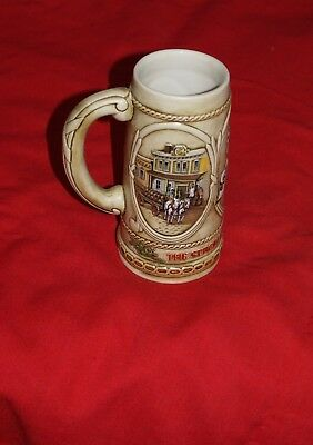 1980's STROHS BREWERY COMPANY Beer Stein Ceramarte Numbered #70738