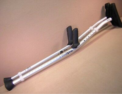 Mobilegs Ultra Aluminum Underarm Crutch Left & Right