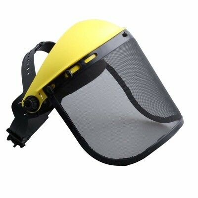 Pruner Outdoor Safety Face Shield with Mesh Visor for Chainsaw Trimmer Pole