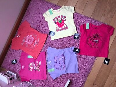 baby girl 5 pack t shirt,9-12 months from Early Days new with tags