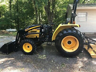 2011 Cub Cadet EX-450 Tractor With Front Loader With Bush Hog 155 Hours