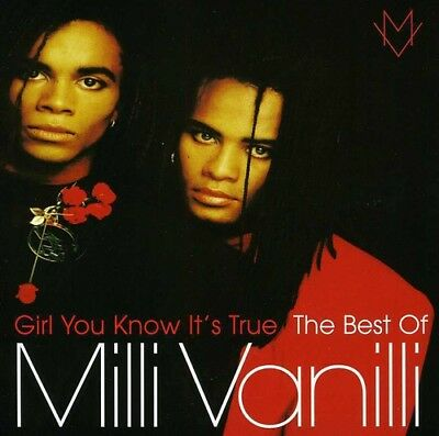 Milli Vanilli - Girl You Know Its True: The Best of Milli Vanilli CD NEW