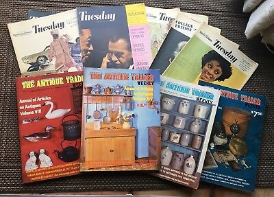 🇺🇸 2 For $10 Vintage Books Magazines - Antique Trader/ Tuesday - Free Shipping
