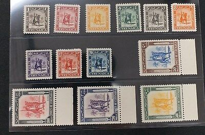CYRENAICA 1950 1m to 500m SG 136 - 148 Sc 66 - 57 mounted warrior set 13 MNH