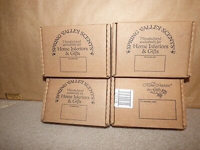 (4) Boxes NEW Home Interiors Candles + 5 Extra 53 Total Strawberries Pears Berry