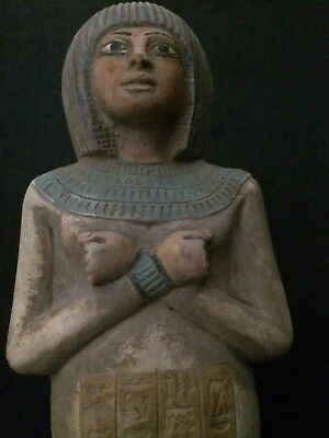 ANCIENT EGYPT ANTIQUE EGYPTIAN Ushabti Statue Shabti Pharaonic Stone C. 2600 BC
