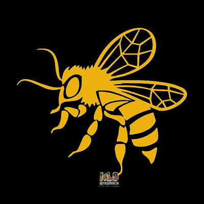 BEE vinyl Sticker Decal Beekeeping Beekeeper Honey Bees Hive car truck window
