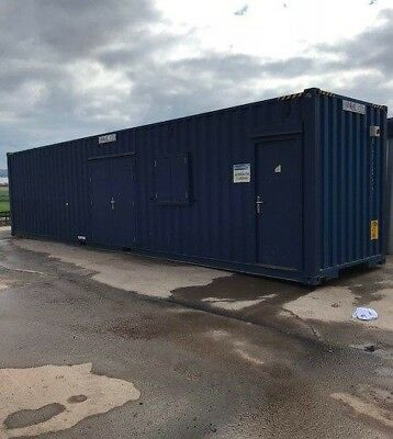 40' x 8' High Cube Converted Shipping Container - Ideal for Shop, Store or Cafe