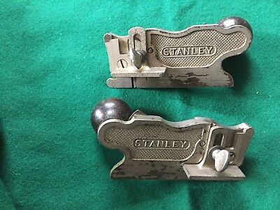 Vintage stanley 98 and 99 side rabbit planes