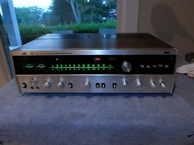 JVC 4VR-5436 Quadraphonic CD-4 SQ 4-Channel Stereo Receiver Works - Sold AS IS.