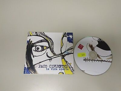 1018- Paco Cifuentes La Vida Aparte Cd Indie Alternativo 12 Tracks Spain