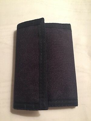 Boys Navy Wallet NWOT Trifold Excellent Condition