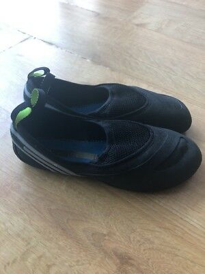 Bnwt Womens Adidas Stella Mccartney Elfat Black Rock Climbing Shoes. Uk Size 5