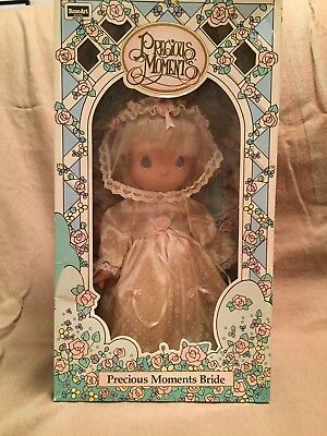 "Precious Moments 10"" Bride Named ""April"" (K Mart Exclusive) -  In Original Box"