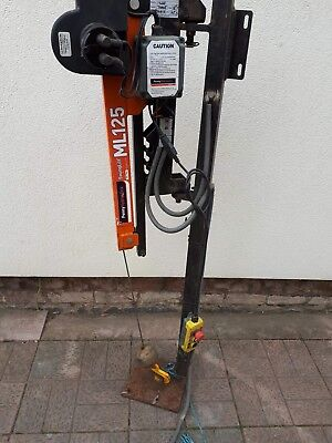 Penny hydraulics ML125 12v Swing lift/Crane to fit van/trailer
