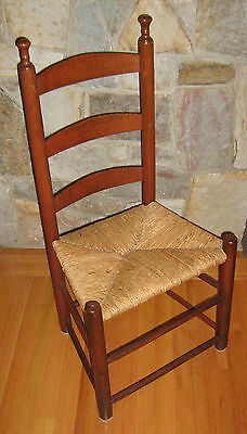 LOCAL PICK UP - Antique Ladder Back Chair - LOCAL PICK UP ONLY -