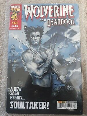 Wolverine and Deadpool Issue #143/ Marvel Collector's Edition/ Panini Uk/ 2007
