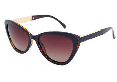 27590254331 Eternal Polarised Women Ladies CatEye Sunglasses for Driving Brown  TortoiseShell
