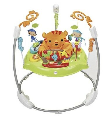Fisher-Price Roaring Rainforest Jumperoo - New Boxed