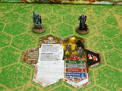 Death Knights of Valkrill Heroscape Moltenclaw's Invasion D3