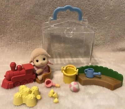 Calico Critters/Sylvanian Families Sheep/ Lamb Baby  With Accessories